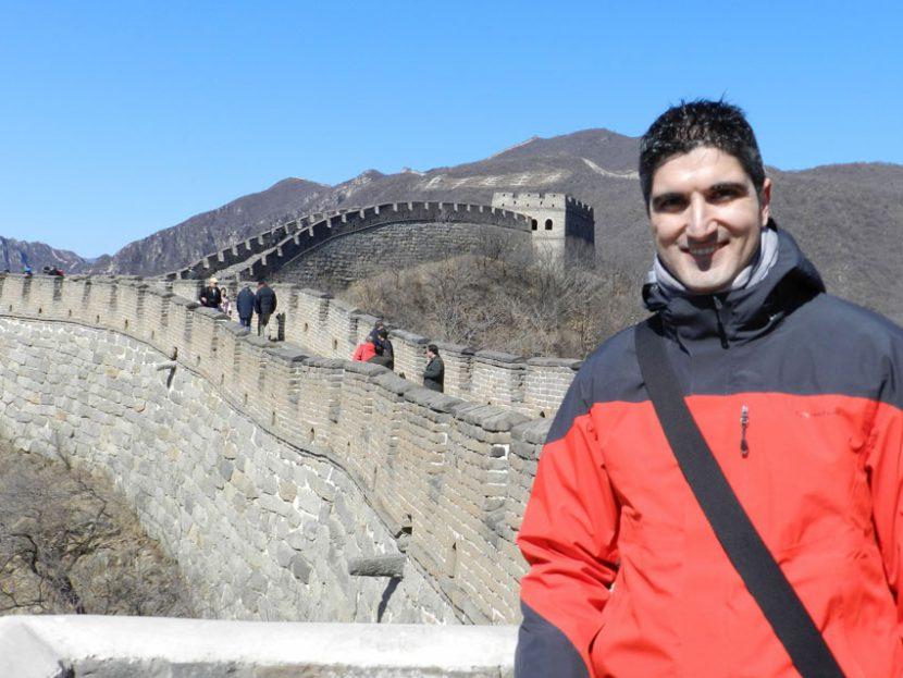 Viaje de David Velasco a Pekín (China)