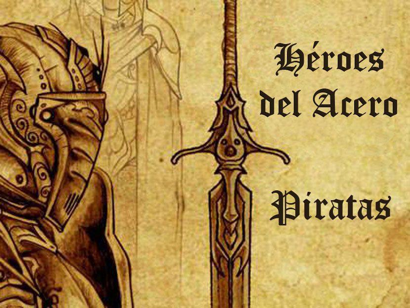 Librojuego Héroes del Acero, Piratas