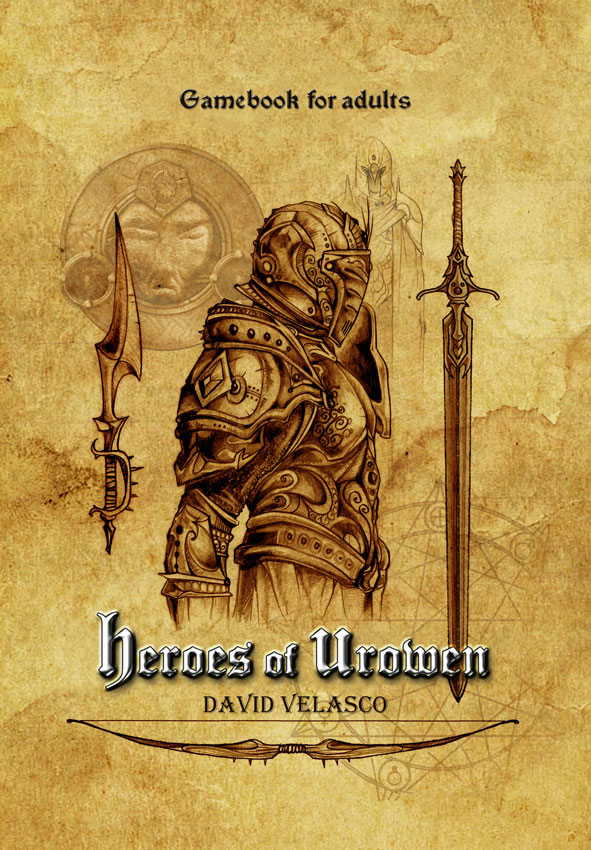 Cover Heroes of Urowen, Gamebook