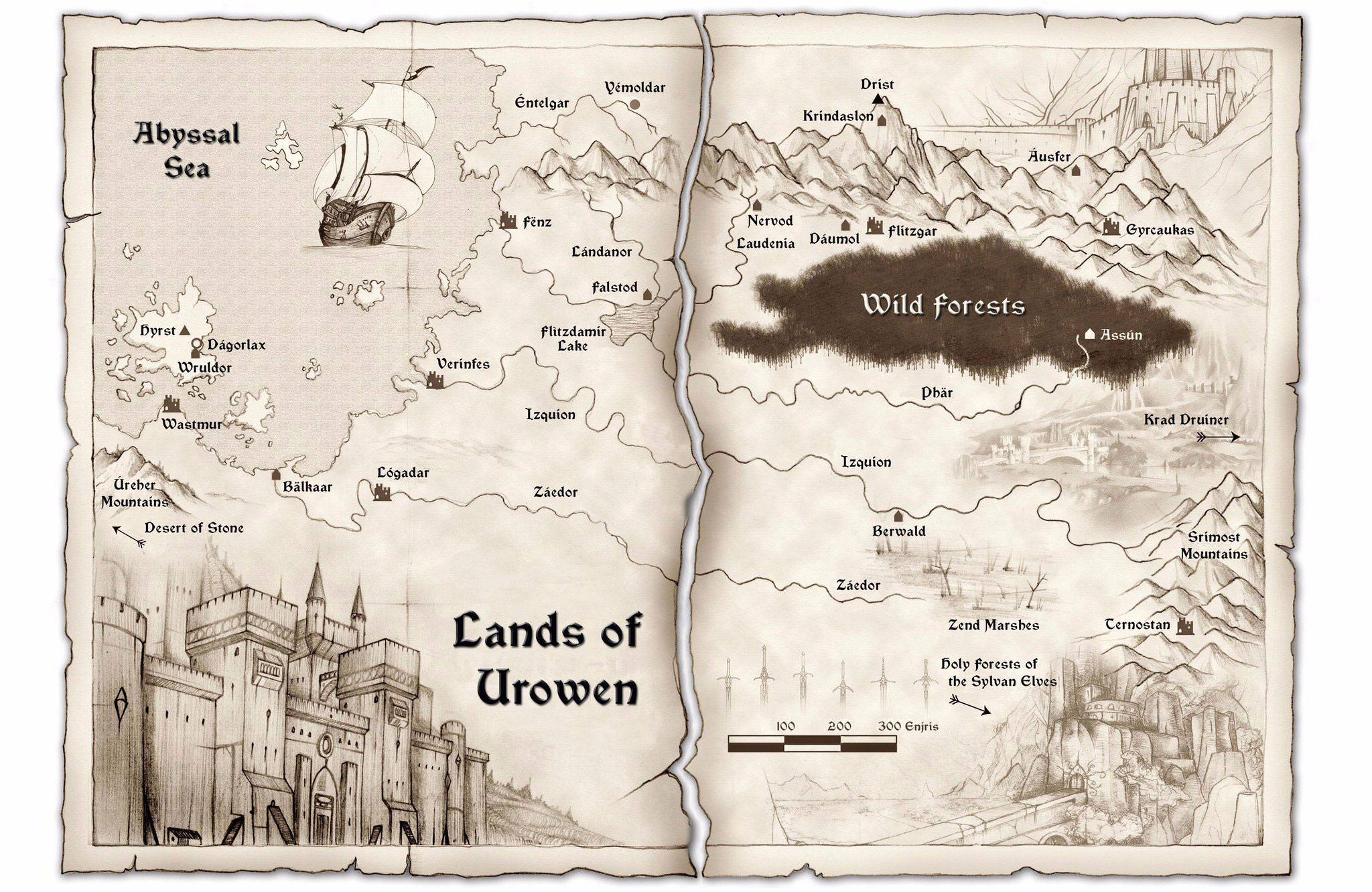 Lands-of-Urowen-Gamebook